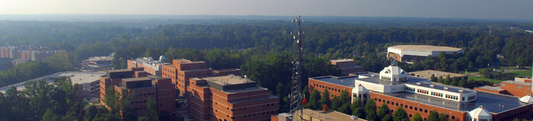 Aerial View of the George Mason Fairfax Campus